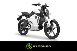 Stärker comercializará la Super Soco TS 1200, la moto eléctrica para la ciudad