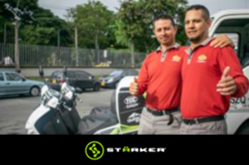 Auteco y Grupo Logístico TCC realizan prueba piloto con motos eléctricas
