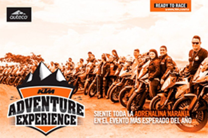 Participa de la KTM adventure experience