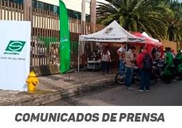 Con puntos seguros en Medellín, Auteco apoya campaña de Secretaría de Movilidad