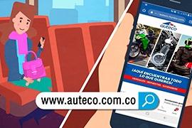 Conoce qué puedes hacer en el nuevo sitio web de Auteco.