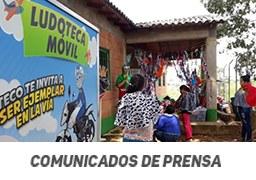 Más de 1250 niños del municipio de Remedios se han beneficiado con la Ludoteca móvil de Auteco