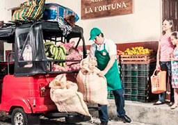 LLEVANDO PROGRESO A TODOS LOS PUEBLOS DE COLOMBIA CON LOS MOTOCARROS