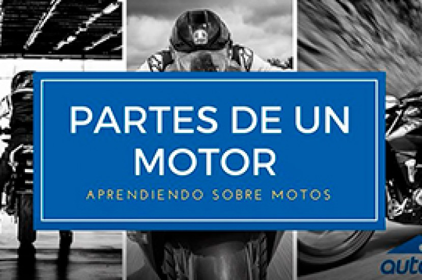 Conoce las diferentes partes del motor de una motocicleta