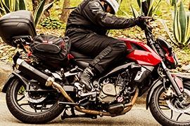 Tipos de alforjas para moto
