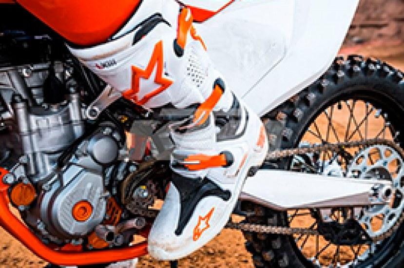 Gamas de botas para moto
