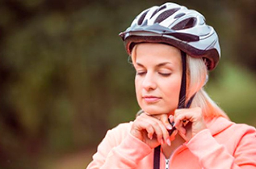 La importancia de usar el casco de bicicleta