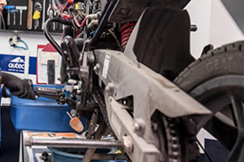 ¿Qué es la Catalina y porque es importante en una moto?