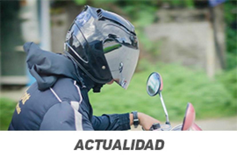 Motociclistas: a cambiar el casco