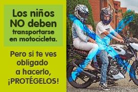 ¿Niños en moto? Esto es lo que debes saber