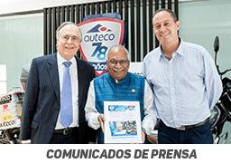 Embajador de la India visitó planta de Auteco en Antioquia