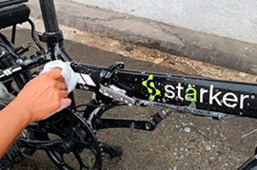 Aprende a lavar tu bicicleta eléctrica Starker