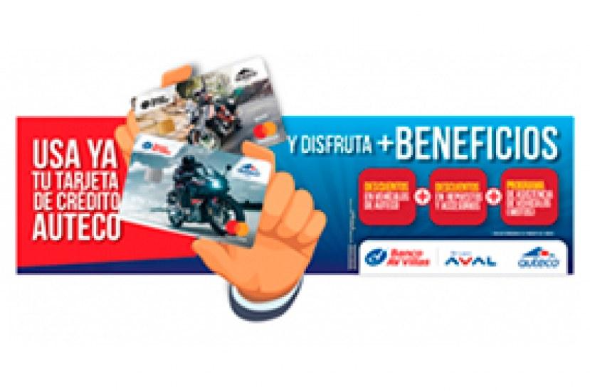 Estos son los beneficios de tu tarjeta de crédito AV Villas Auteco