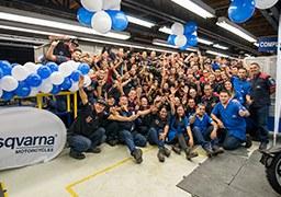 Auteco ya ensambla en Colombia motocicletas de la marca sueca Husqvarna