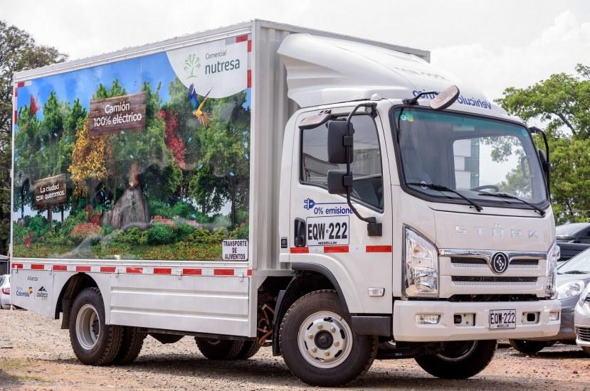 Así va el negocio de los camiones eléctricos de Auteco