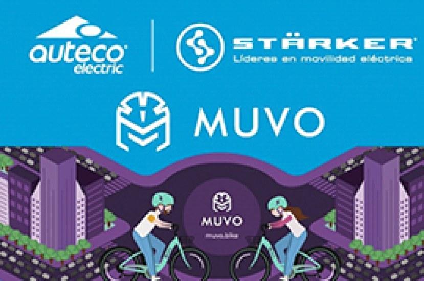 ¡Con Muvo ya puedes alquilar en Medellín nuestras bicis eléctricas Starker!