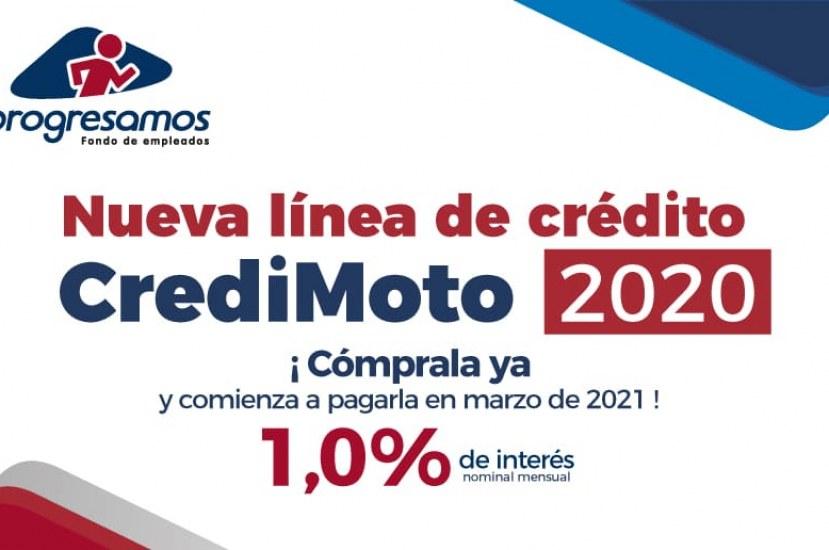 Conoce el nuevo beneficio de Progresamos: Credimoto 2020