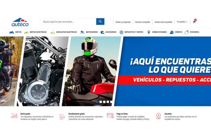 Nueva plataforma Ecommerce Auteco Mobility