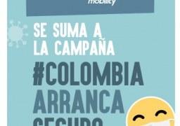 Juntos ayudamos a que Colombia arranque seguro