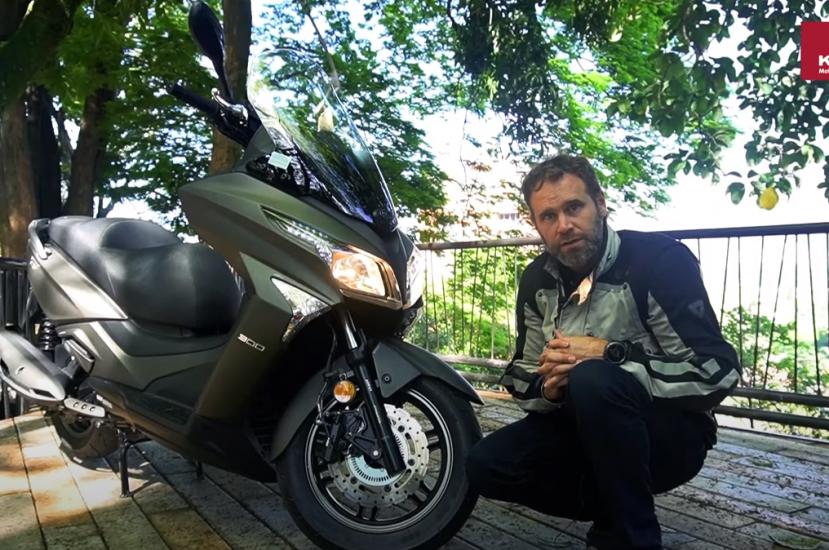 KYMCO XTOWN 300  – La scooter de ALTO CILINDRAJE