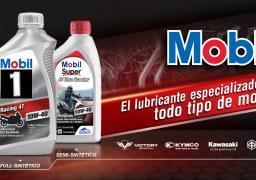 Conoce todo lo que necesitas saber de los aceites y lubricantes Mobil para moto
