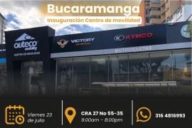 Inauguración punto exclusivo Auteco Mobility Bucaramanga